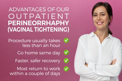 Advantages of Minimally Invasive Outpatient Minimally-Invasive Perineorrhaphy Vaginal Tightening